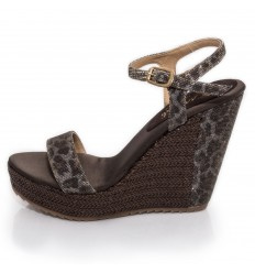 ESPADRILLE WEDGE SANDALS, WOMAN- MODEL LAS VEGAS