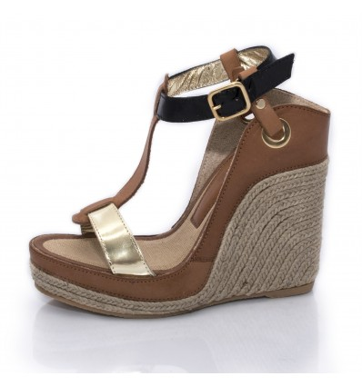 Espadrille Wedge Sandals, Woman- Model Nor