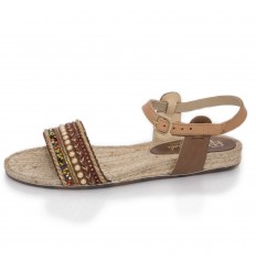 Espadrille Sandals, Woman-Model Artisan Low