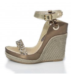 Espadrille Wedge Sandals Woman - Model Nor Glamour