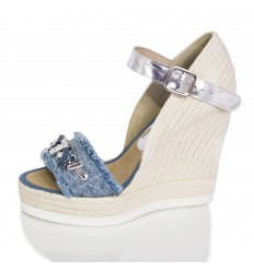 Espadrille Wedge Sandals Woman - Model Malibu